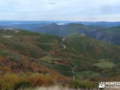 Ancares lucenses; viaje Puente noviembre; club de senderismo senderismo cercedilla